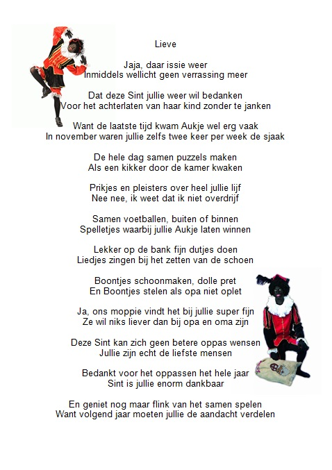 Sinterklaas Gedichten Maken Gratis Spele Nl Archidev
